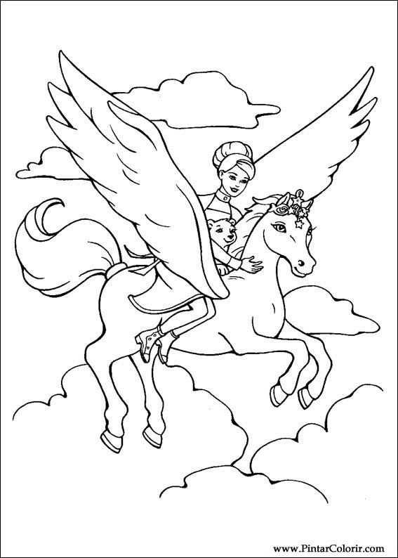 Kleurplaat Pegasus Google Zoeken Met Afbeeldingen Dieren