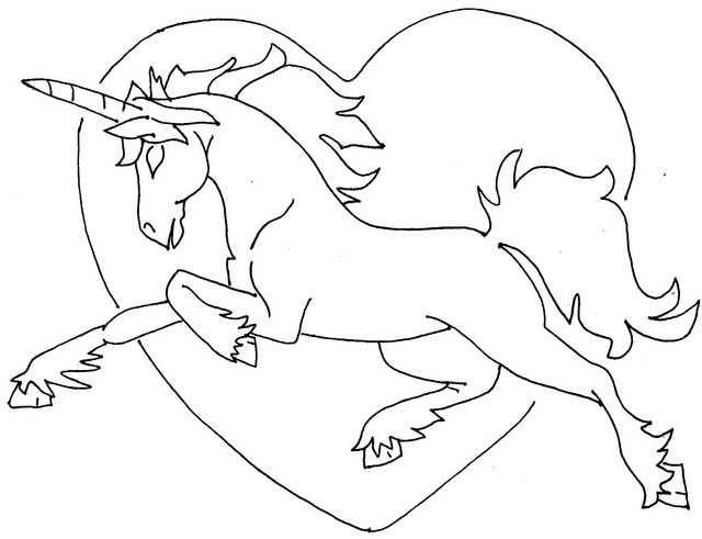 Diy Unicorn Embroidery Kleurplaten Eenhoorn Paarden