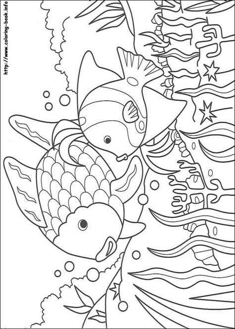 Kleurplaat Mooiste Vis Van De Zee With Images Fish Coloring