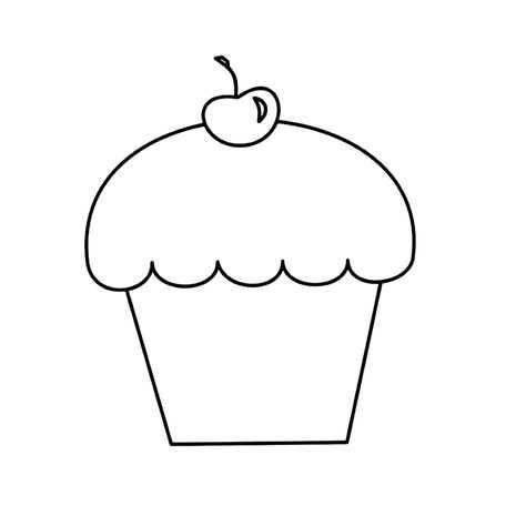 Free Printable Cupcake Coloring Pages For Kids Kleurplaten