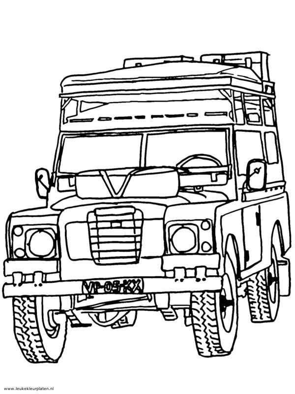 Landrover Defender 2 Land Rover Defender Land Rovers Kleurplaten