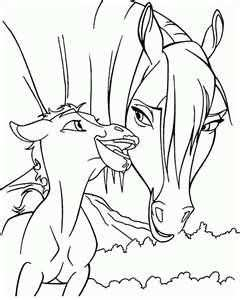 Image Search Results For Spirit Color Page Horse Coloring Pages