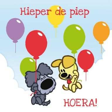 Woezel En Pip Vliegen Met Ballonnen Minion Verjaardag