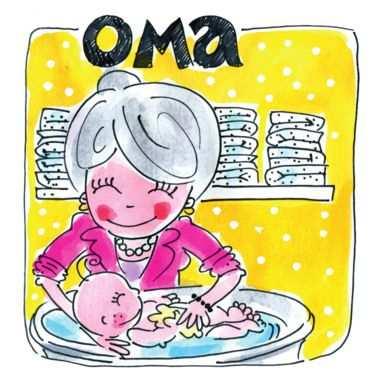 Grandma Dutch Oma Blond Amsterdam Via Greetz Nl Baby