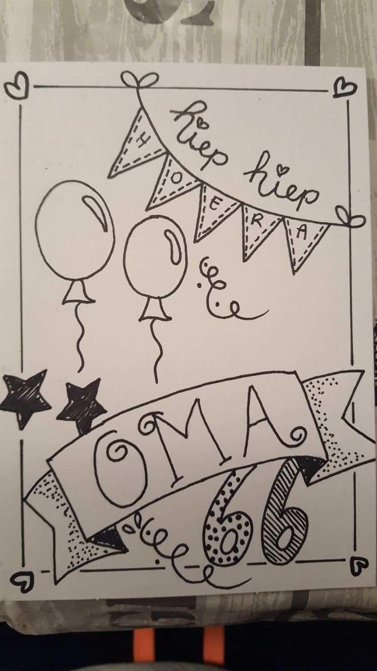 Hiep Hiep Hoera Kaart Ideeen Verjaardag Kaarten Maken