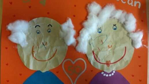 Gekreukeld Papier Als Opa En Oma 50 Jaar Getrouwd 125getrouwd