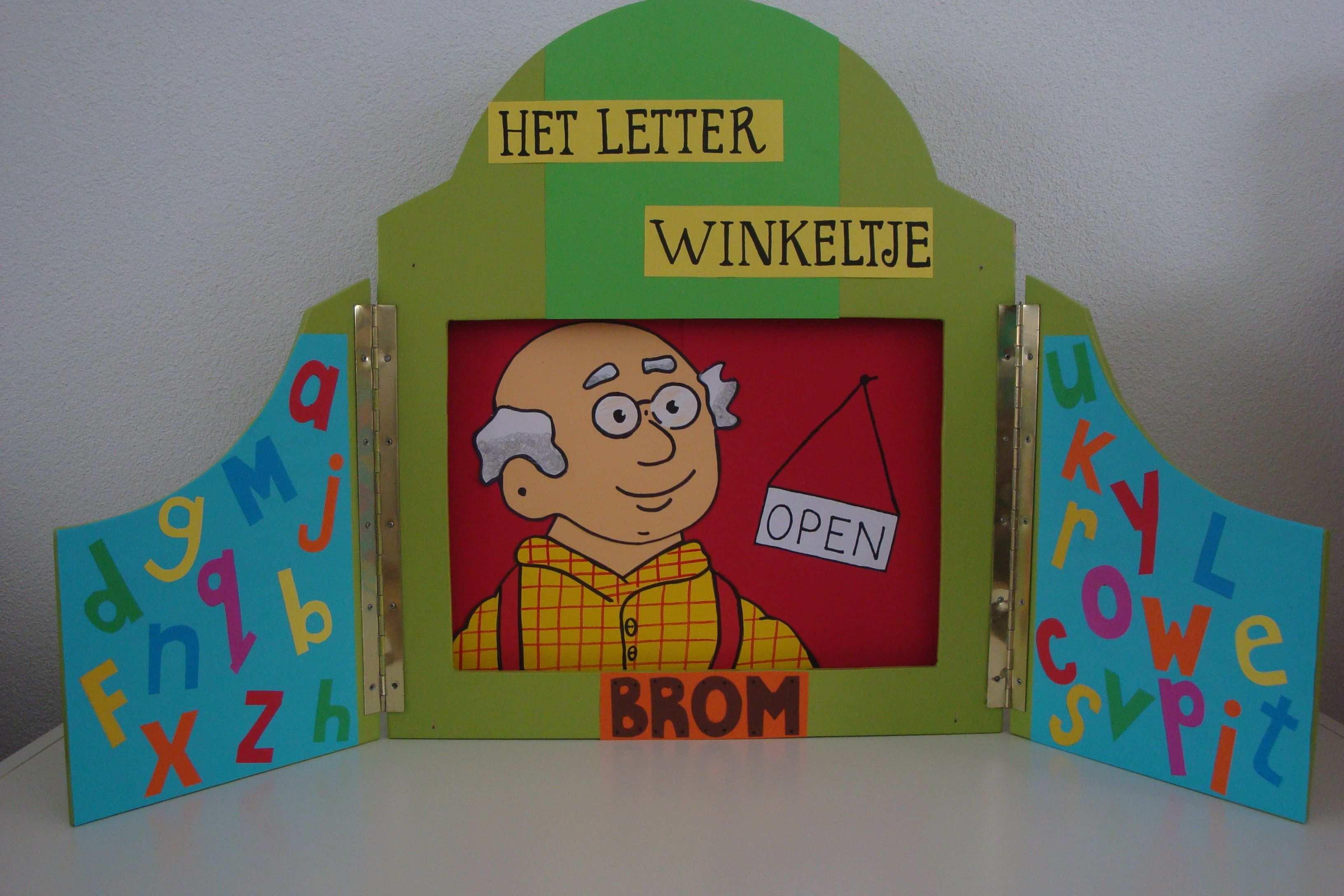 Het Letterwinkeltje Van Opa Brom Groep2 Met Afbeeldingen