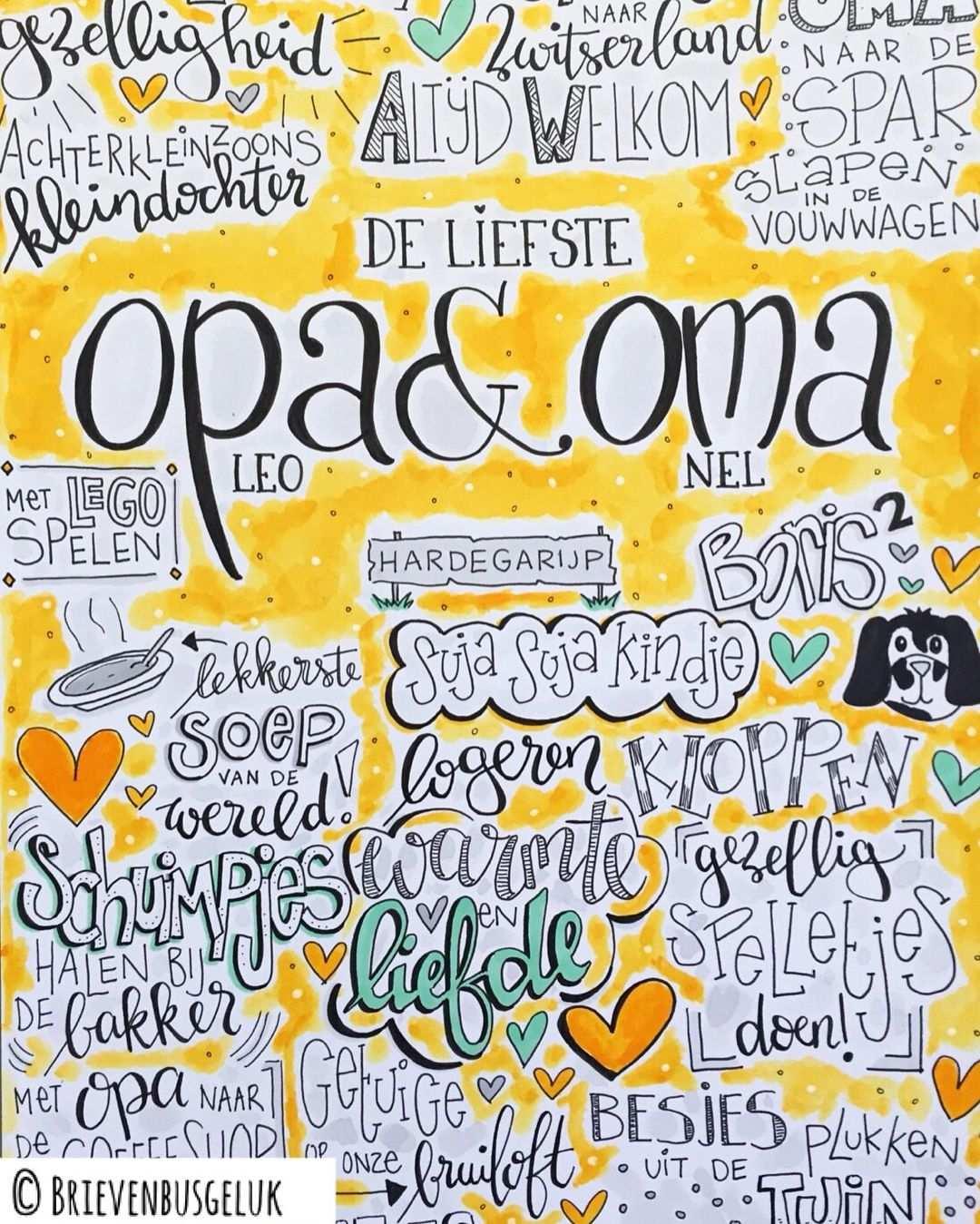 Afbeelding Van Dimphy Buuren Op Tekeningen Knutselen Opa En Oma