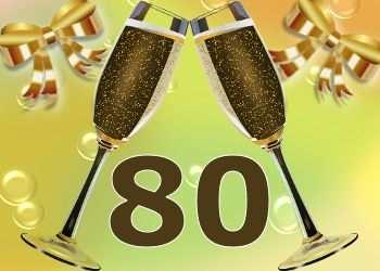 Cheers 80 Jaar Met Afbeeldingen Verjaardag 80 Verjaardag