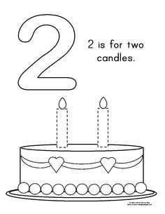 Afbeeldingsresultaat Voor Taart Kleurplaat Met 5 6 Kaarsen
