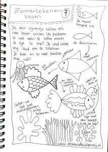 We Tekenen De Zomer Vissen Met Afbeeldingen Vissen Tekenen