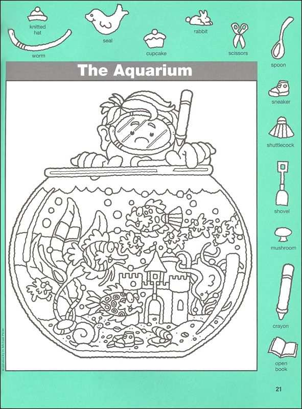 De Vissenkom Zoek De Voorwerpen Con Imagenes Objetos