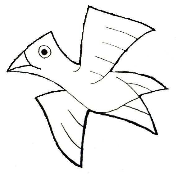 Vogel Van Escher Vliegende Vogels Onderwijzen Van De Kunst