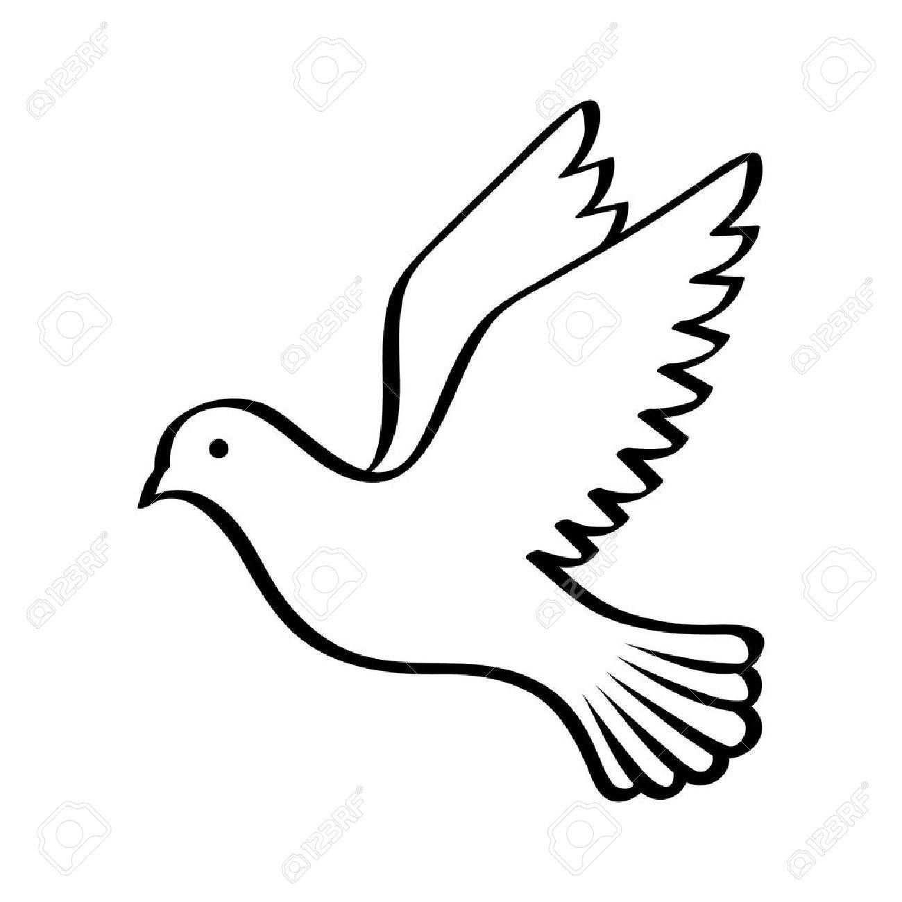 Stock Photo Vliegende Vogels Dingen Om Te Tekenen En Lijntekeningen