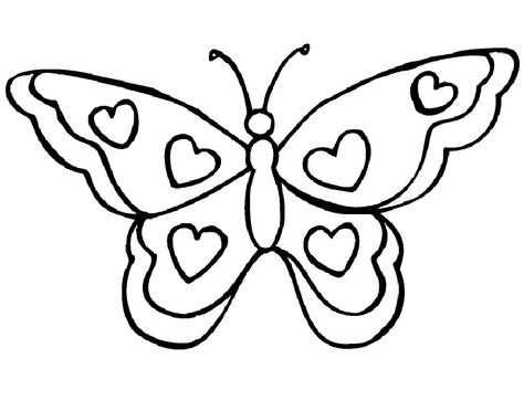 Een Mooie Vlinder Om In Te Kleuren Met Afbeeldingen