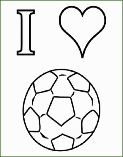 5 Kleurplaat Voetbal Kleurplaten Voetbal Tekenen Knutselen Sport