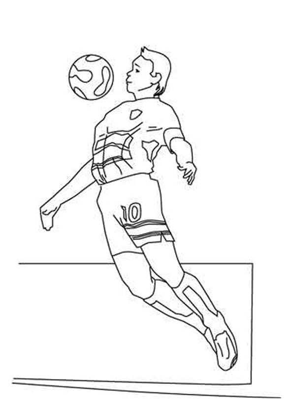 Voetbal Kleurplaat Google Zoeken Kleurplaten Voetbal Sport