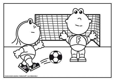 Frokkie En Lola Aan Het Voetballen Lola Schiet En Zal Frokkie