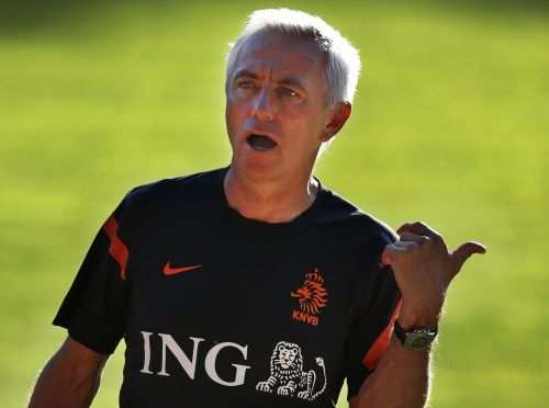 Van Marwijk Trainer Coach Voetbal En Oranje