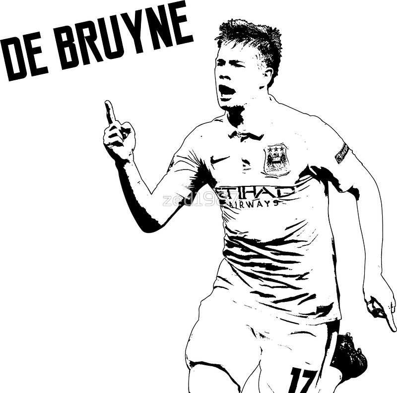 Kevin De Bruyne Manchester City By Zed1987 Manchester City