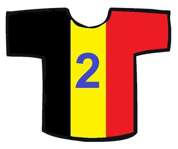 Belgie Rugnummer 2 Voetbal Sport En Olympische Spelen