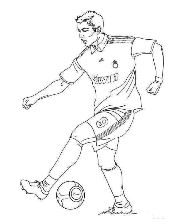 Fifa World Cup Coloring Pages Kleurplaten Voetbal Tekenen En