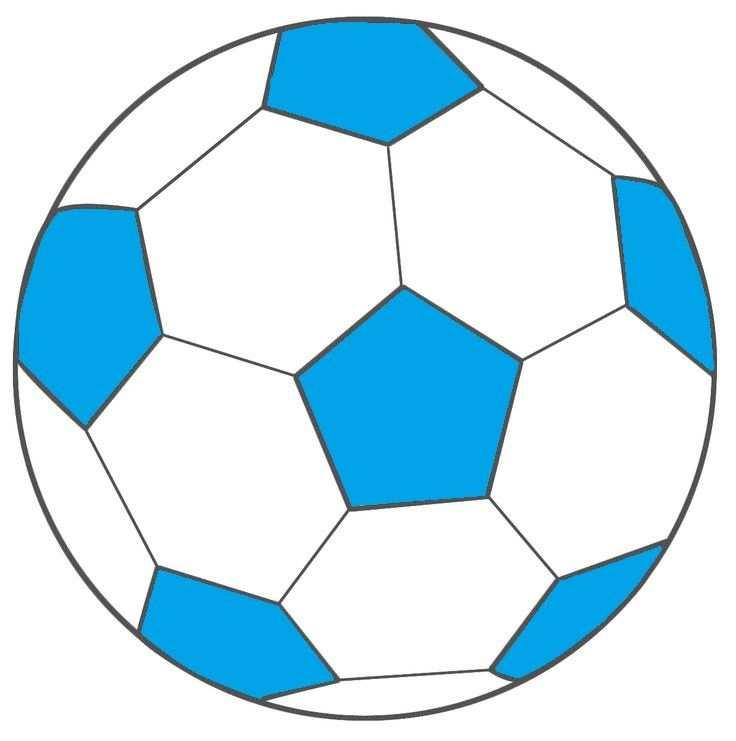 Voetbal Blauw Met Afbeeldingen Voetbal Ballen Ballonnen