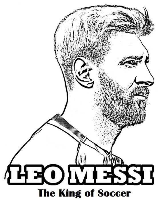 Coloriage Lionel Messi Luxury 60 Best Sport Coloring Page Images