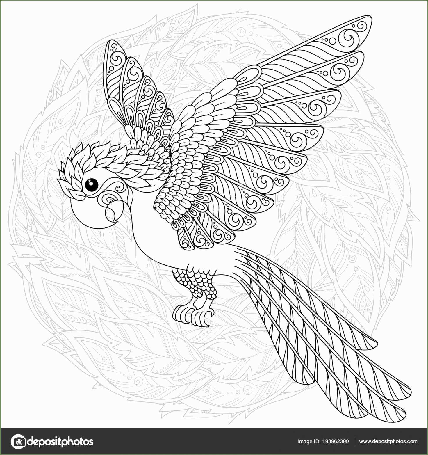 kleurplaat vogel moeilijk