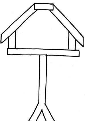 Vogelhuis Kleurplaat Google Zoeken Winter Knutselen