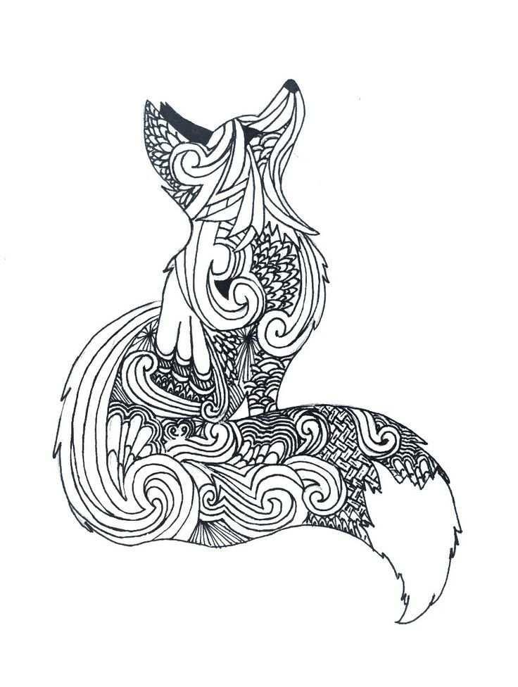 Resultats De Recherche D Images Pour Draw Fox Art Pour