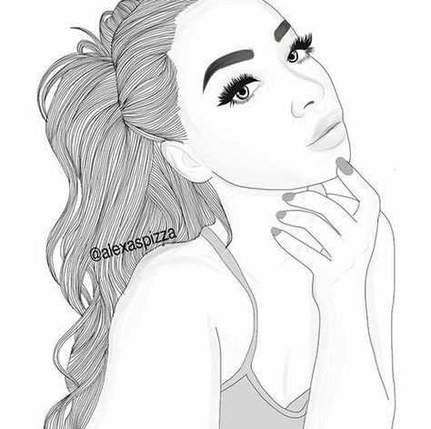 Pin On Drawing Girl