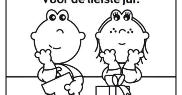 Frokkie En Lola Kleurplaat Liefste Juf Kleurplaten Tekenen