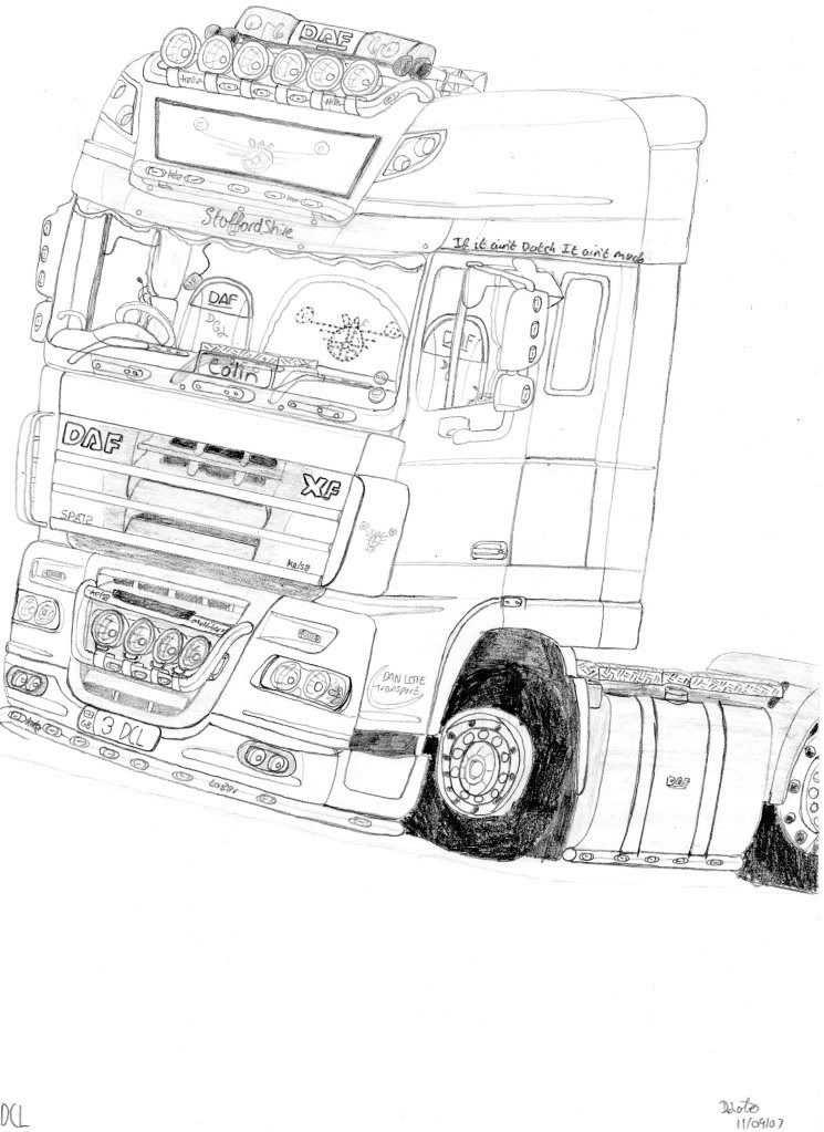 Vrachtwagen Kleurplaat Volvo Google Zoeken Met Afbeeldingen