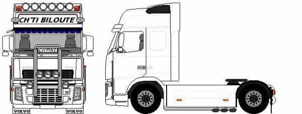kleurplaat vrachtwagen daf