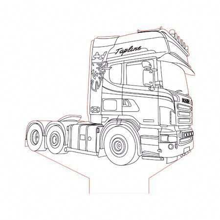 Kleurplaten Vrachtwagens Volvo Google Zoeken Met Afbeeldingen