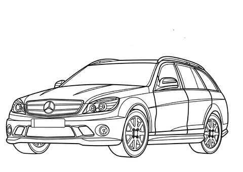 Afbeeldingsresultaat Voor Mercedes E Klasse Tekenen Mercedes