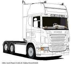 Resultado De Imagem Para Scania R Tekening Dibujos De Autos