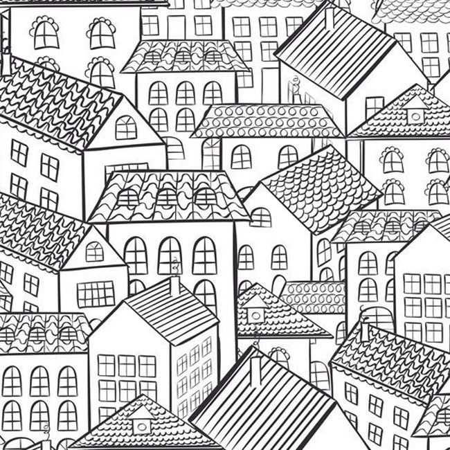 Huizen Kleurplaat Volwassenen Nieuw Huis Snail Kleurplaten