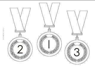 Juf Sanne Medailles Juegos Olimpicos Para Ninos Juegos