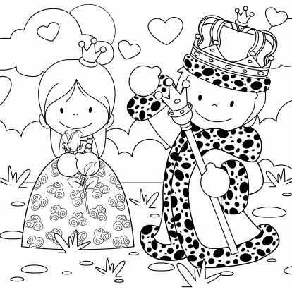 Koningsdag Kleurplaat Kaart Kinderkaarten Kaartje2go