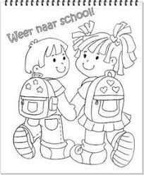 Afbeeldingsresultaat Voor Kleurplaten Welkom Op School Met