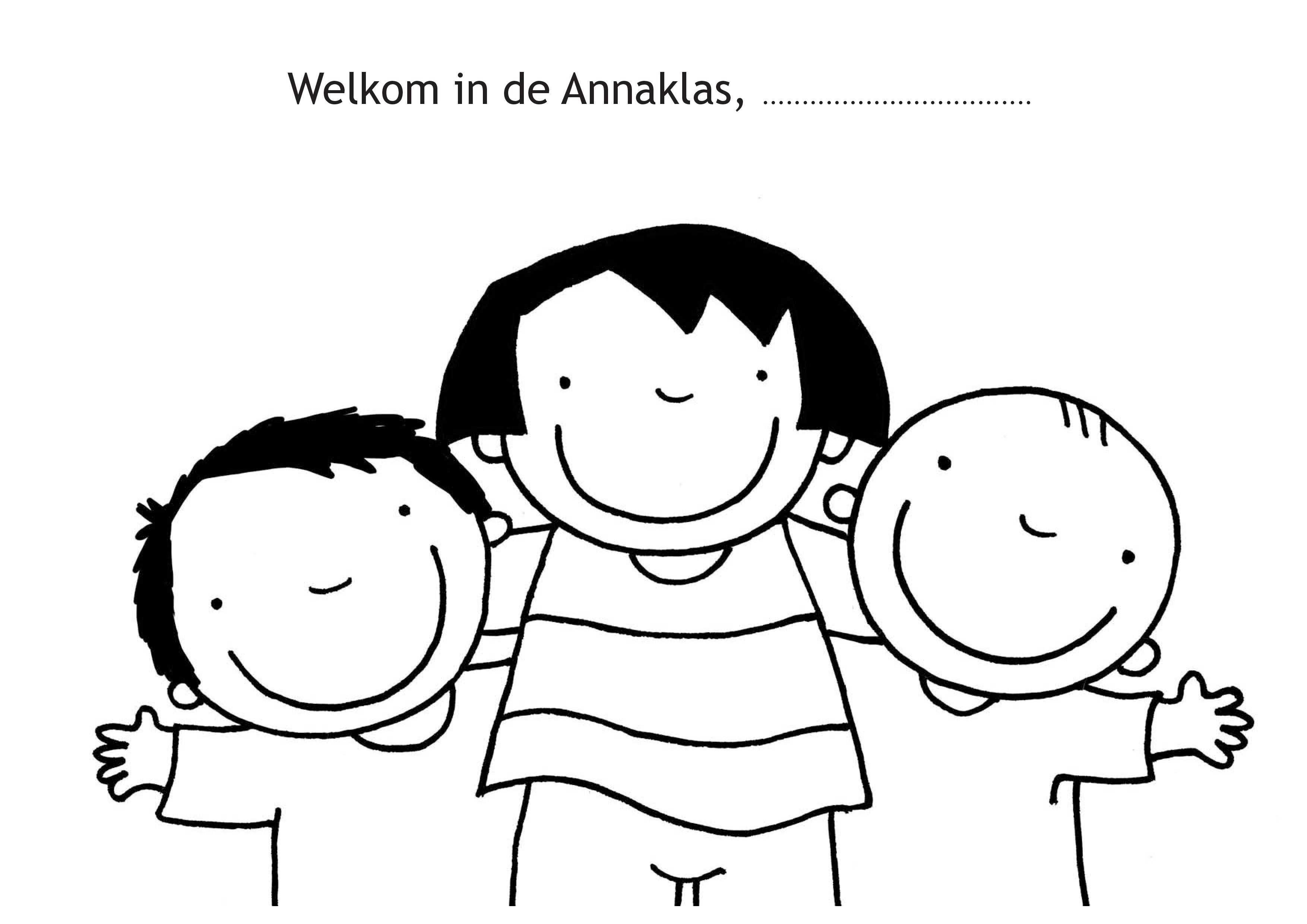 Welkom In De Anna Klas Met Afbeeldingen Terug Naar School
