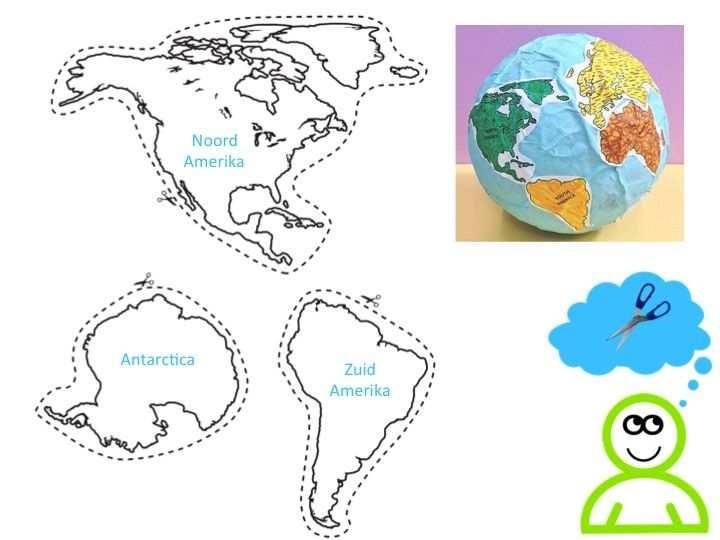 De Zeven Continenten Van De Wereld Met Afbeeldingen Wereldbol