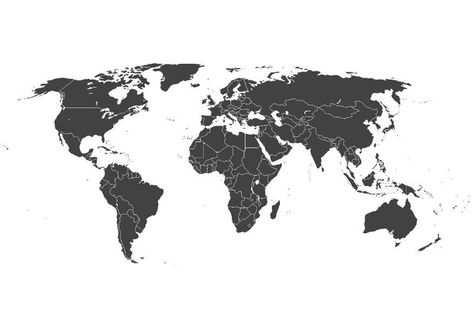 Kleurplaat Wereldkaart Kleurplaten Wereldkaart Kaart Achtergrond