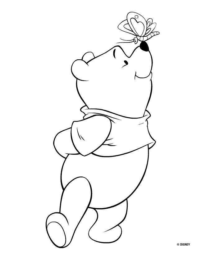 Kleurplaat Winnie The Pooh En Vrienden Kleurplaten Disney
