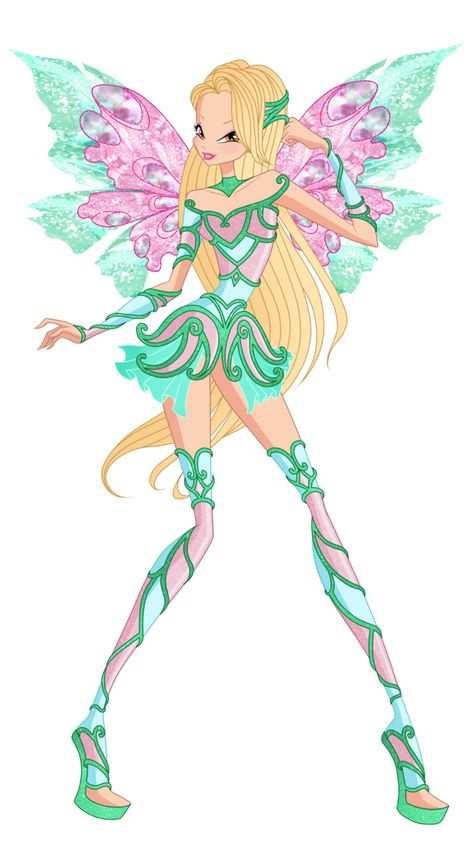 Daphne Hesperix Wow By Https Www Deviantart Com Winx Rainbow