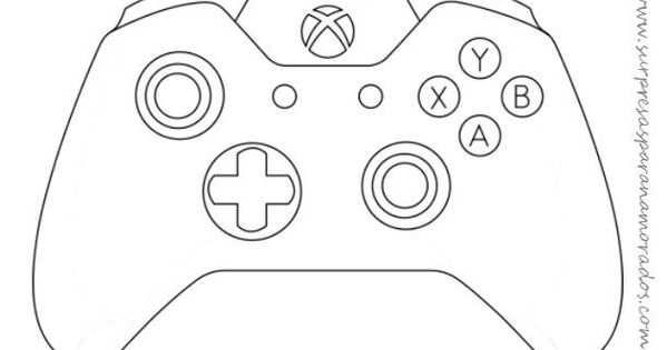 Molde De Controle De Videogame Xbox One Met Afbeeldingen