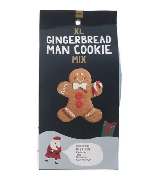 Cookie Mix Ginger Bread Man Hema Drinken Eten Snoep