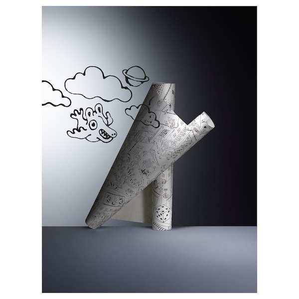 Lustigt Rol Tekenpapier 10 M Ikea